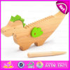 2016 Brand New Wooden Castanet Toy, Musical Wooden Castanet Toy, Hot Sale Wooden Castanet Toy W07I123