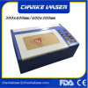 400X400mm Rubber Stamp Mini Engraving Cutting CO2 Laser Machine