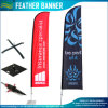 Displayed Flying Feather Wing Knife Beach Flag (T-NF04F06078)