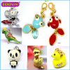Hot Sell Kids Jewelry Gold Plated Alloy Charm Fish Pendant
