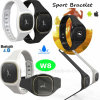 Bluetooth 4.0 Smart Waterproof Bracelet with Sleep Monitor W8