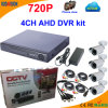 4 Channel 720p Free Cms Software CCTV System