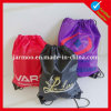 Top Quality USA Flag 210d Nylon Drawstring Backpack