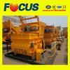 Double Horizontal Shaft Concrete Mixer, Js750 Concrete Mixer with Lift