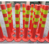 One Piece Molded Fluorescent Safety Posts