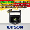 Witson Android 5.1 Car DVD GPS for Cheverolet Aveo 2011 with Chipset 1080P 16g ROM WiFi 3G Internet DVR Support (A5745)