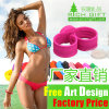 Custom Silicone Clap Snap Wristband No Minimum (RichgiftA103) Gift