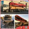 42m 8*4-LHD-Drive 26ton Isuzu-Chassis Used Bulk-Shipping Putzmeister Pump Truck