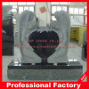 Natural Stone Angel Headstone Monument Tombstone with Heart