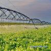 Waterwheel and Circle Irrigation System