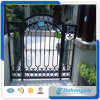 Decorative Courtyard Wrought Iron Gate