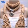 Floral Pattern Slider Pendant Scarf (SNSMQ1029)
