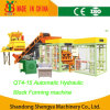 Full Automatic Hydraulic Concrete Brick/Block Making Machine (QT4-15)