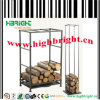 Metal Firewood Storage Rack for Warehouse