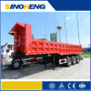 12 Tyres Dump Trailer/ 60t Tipping Trailer for Sale