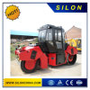 Vibratory Compactor Combined Rubber Road Roller 10tons