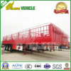 High Wall Transport Beer 3 Axles Stake Semi Trailer