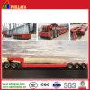 Heavy Duty Low Bed Bridge Beam Transport Semi Trailer