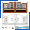 Wrought Iron Door Design / Powder Coated Security Galvanized Steel Gate