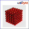 Coating Red 125 Buckyballs Magnetic Balls (T-015)