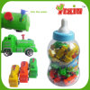 Fire Truck Water Gun Toy Candy in Jar