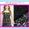 Elegant Balck Floral Embroidery Design for Lady Dress