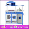 2014 New Style Wooden Toy Kitchen for Kids, Latest Modern Wooden Toy Kitchen for Children, Pretend Play Kitchen for Baby W10c076A