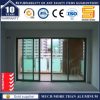 Aluminum Balcony Double Glazing Sliding Door with Germany Hardware