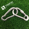 Stainless Steel 304 316 Spring Snap Hook