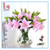 Wedding and Home Decorative Artificial PVC Silk Lily Flowers