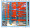 Warehouse Drive in Racking with Upright Protector Rail Guide