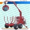 Timber Trailer with Crane for Tractor ATV