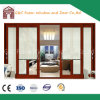 2.0mm Thick Alminum Sliding Door with Electric Blinds From Foshan