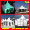 Classic Party Tent Transparent Glass Wall ABS Wall Panel Pagoda Tent