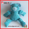 Strip Velvet Blue Pig Tear Resistant Pet Toy