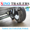 Fully Welded Heavy Duty Tandem Box Trailer