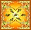 Beautiful Digital Printed Silk Scarf (F13-0065)