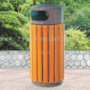 Garden Used Wooden Waste Bin in Hot Sale