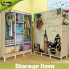 1 Door Furniture Childrens Habitat Canvas Covered Wardrobe