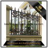 Power Coated Cast Aluminum Metal Garden Fence for Villa Security