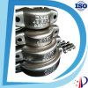 Stainless Steel Quick Grooved Pipe Coupling Generator Shaft Clamp