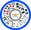 Quality Aftermarket Auto Body Spare Parts for Chevrolet (Chevy) & Daewoo Car Parts