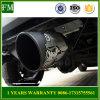 Spilt Rear Stainless Steel Exhaust Pipe for Jeep Wrangler 07-15