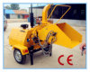 Ce Certificate 40HP Diesel Wood Chipper (WC-40/TH-40) , Hydraulic Feeding, 360 Degree Output