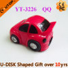 Beautiful Red Car USB Flash Drive for Sales Gifts (YT-3226)