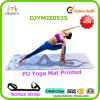 New Arrival PU Leather Yoga Mat, Custom Printed, Super Anti-Slip Yoga Mat