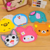 Silicone Cust Cartoon Image Coaster Cup Mat Pad
