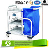 Mobile Treatment Laundry Collecting Trolley