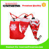 Easy Carrying 210d Polyester Foldable Christmas Shopping Bag