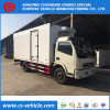 Dongfeng 4X2 5tons Refrigeration Box Truck Used Freezer Truck